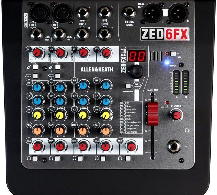 Allen & Heath ZED6FX